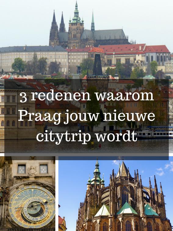 3 redenen waarom Praag jouw nieuwe citytrip wordt